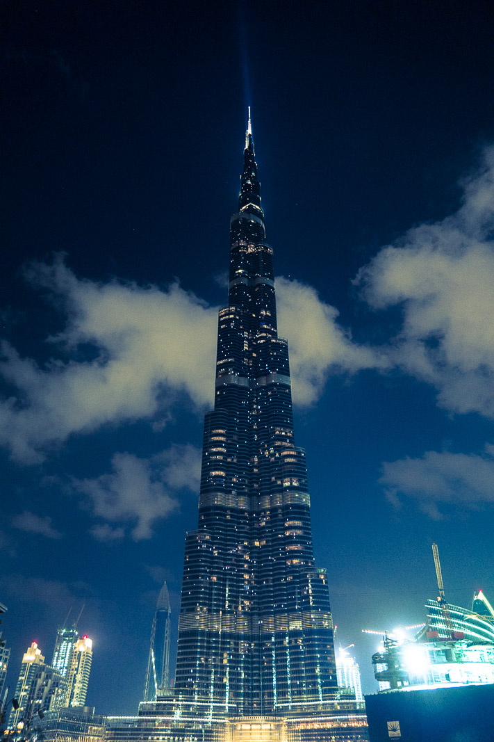 Burj Khalifa, Dubai, night