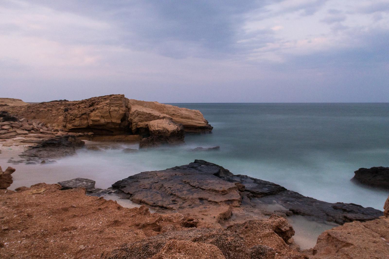 Wild Camping, Shore, Fins, Oman